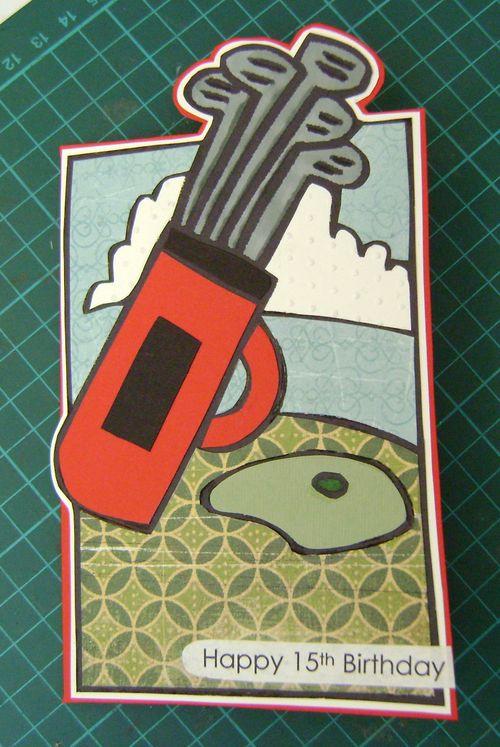 Pat's Golf Card