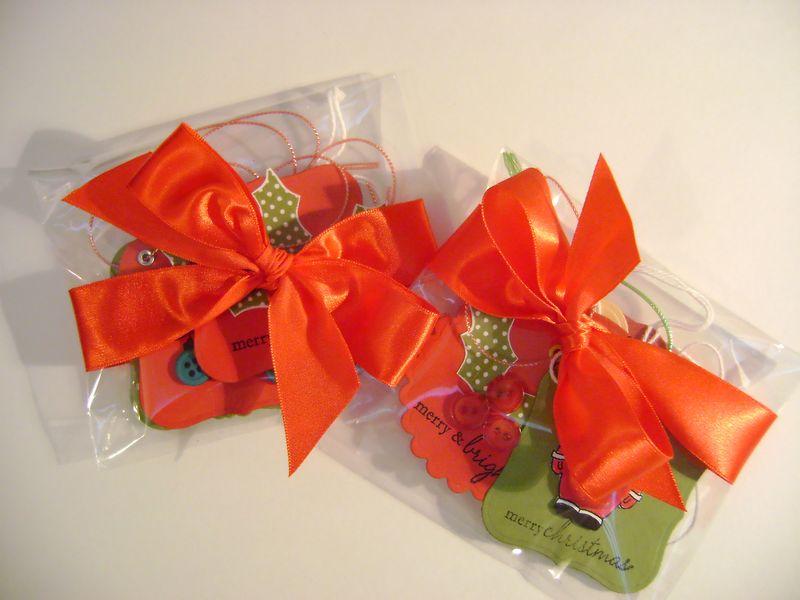 Workshop tags packaged