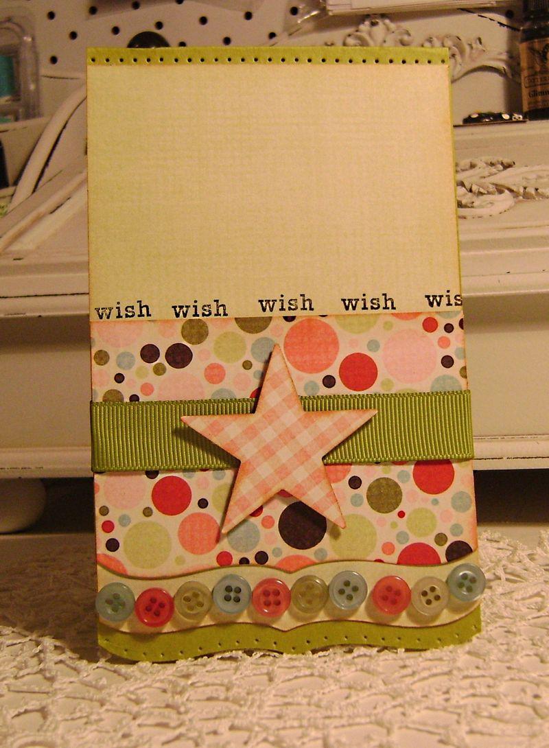 Wish card