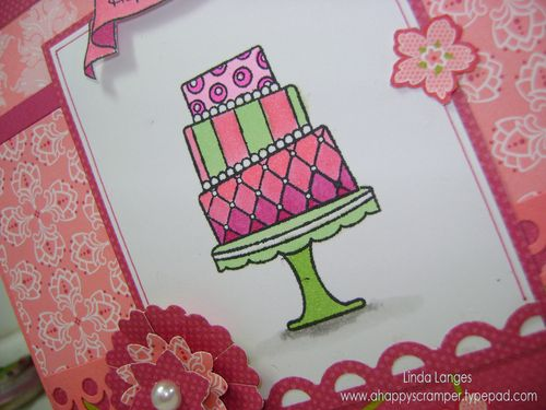 Olivia's card close up