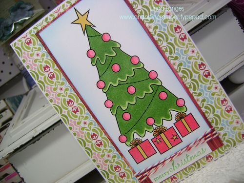 Tree Card close up