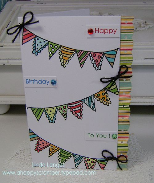Birthday Banner Card main