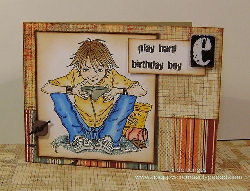 C4C Boy Card main