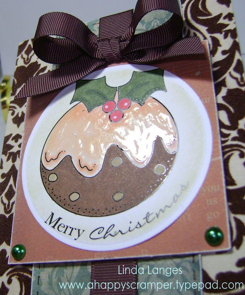 SSS Pudding Card close up