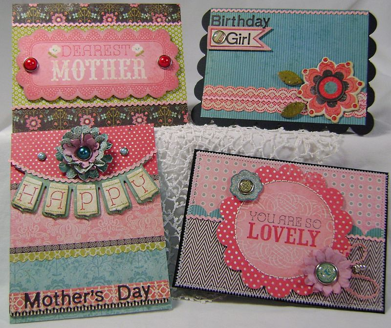 March Kit Set of 4 Cards