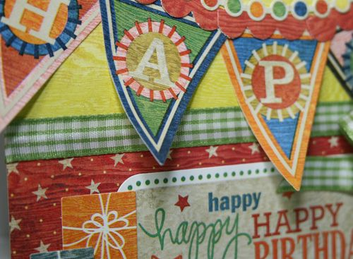 Banner close up