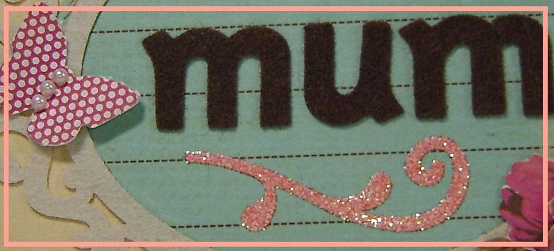 Mum card narrow