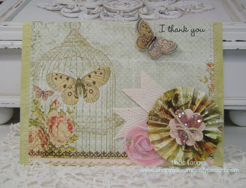 Butterfly Garden thank you