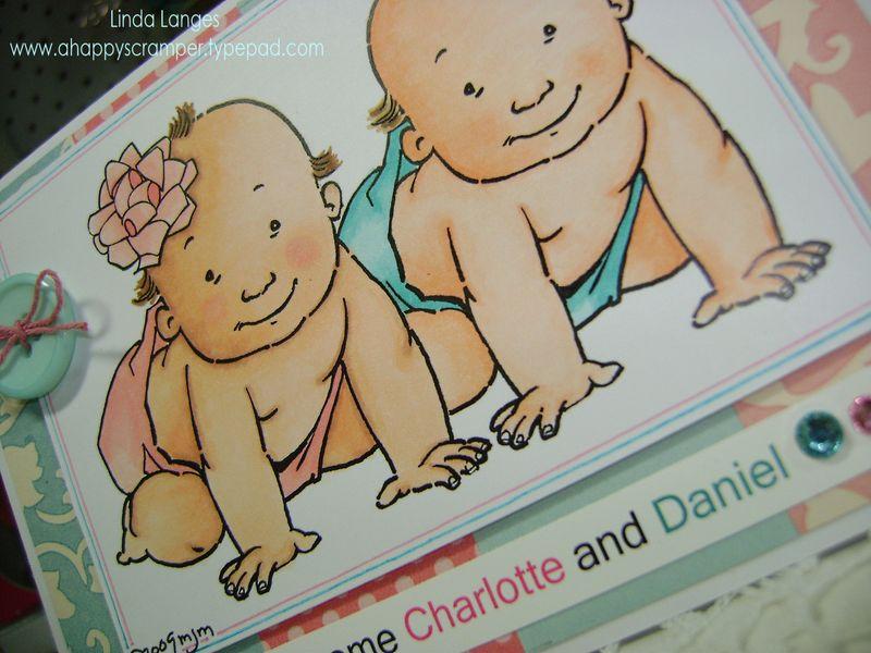 Twins Card close up