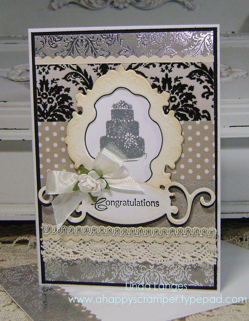 Shabby Cake Card