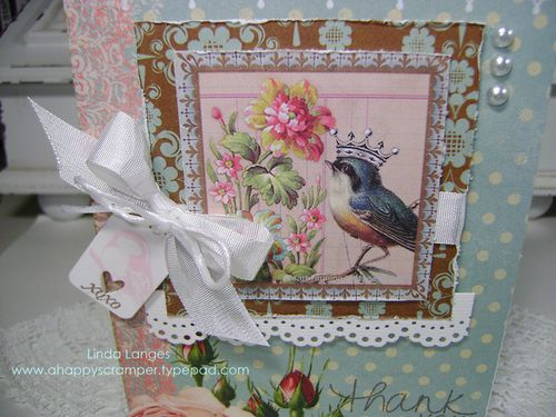 Shabby Tea Rm THank You close up