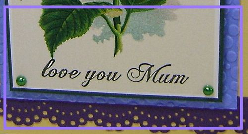 Mum's Mother's Day Card narrow