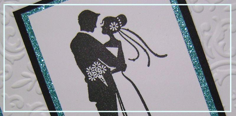 Couple Wedding Card narrow