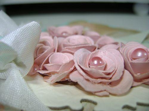 Shabby Tea Room Love flower