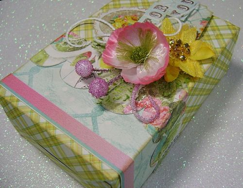 Box for you on white close up