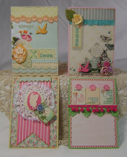 Set of 4 kit cards