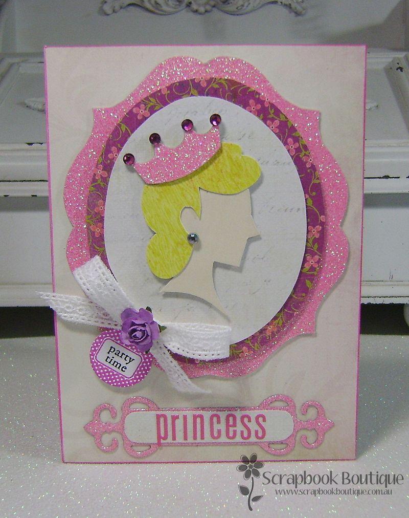 Princess Challenge card