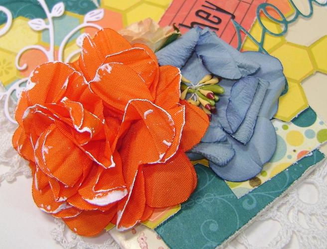 Hey you orange flower