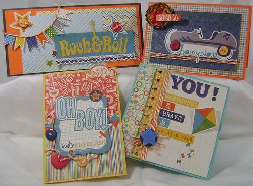 Kit Cards x 4