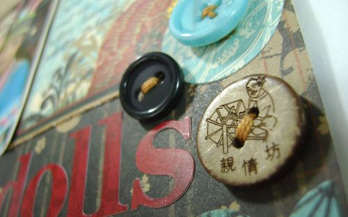 China Dolls LO buttons close up