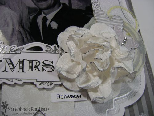 Mr and Mrs Flower close up