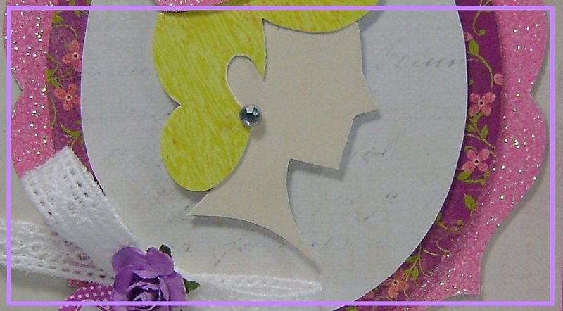 Princess Challenge card narrow
