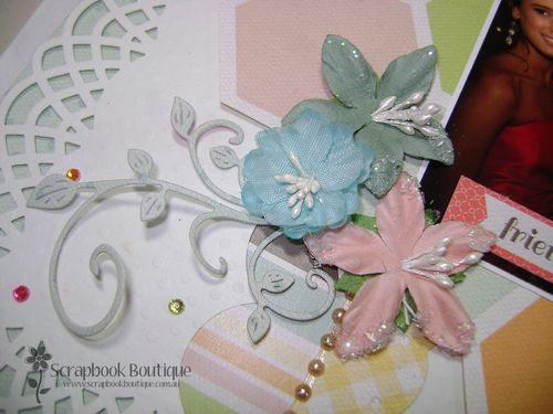 Friends layout Prima flowers