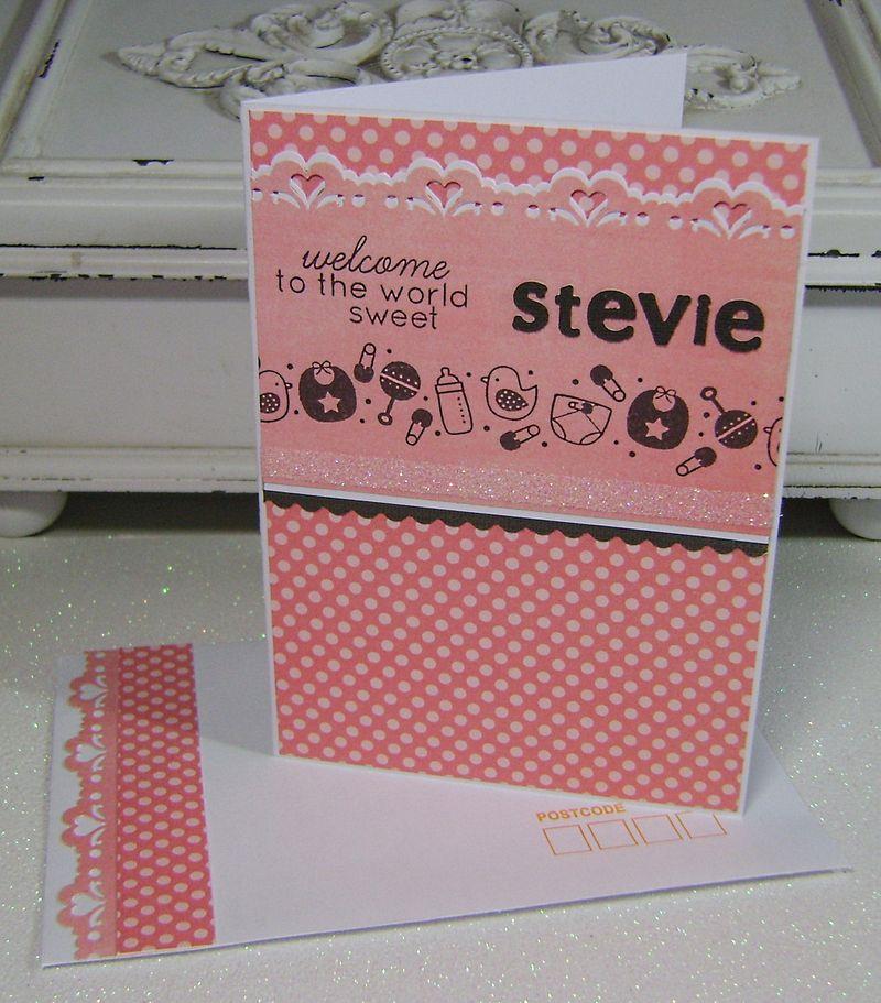 Stevie's Card