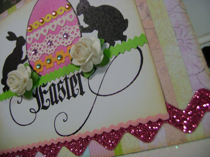 Easter card CU2