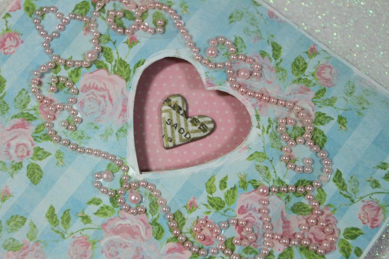 Mum Card heart CUp