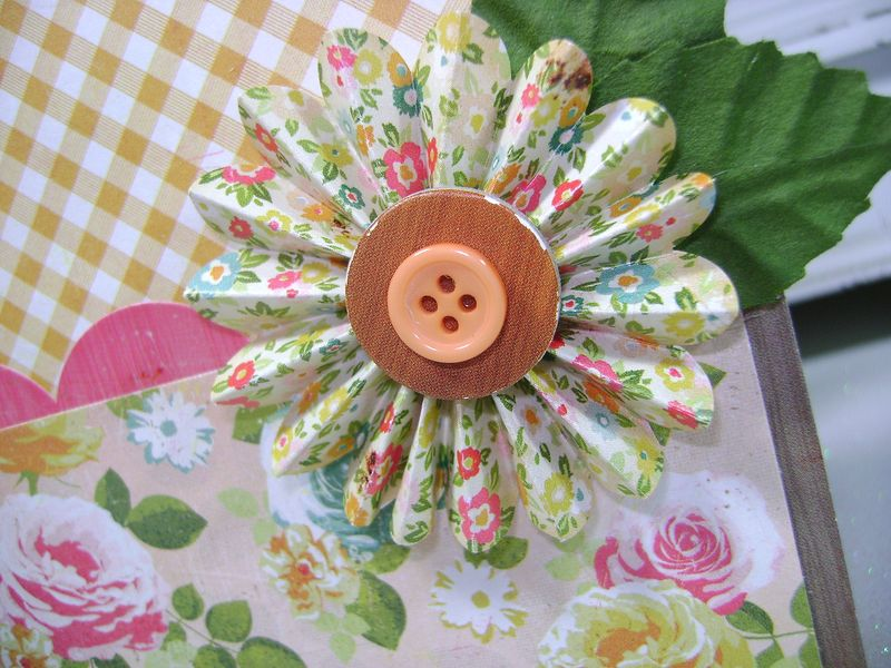 Crate paper Pretty Party Celebrate rosette