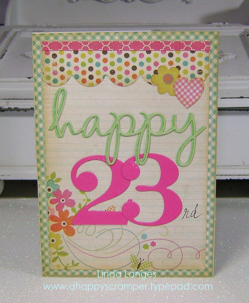 Happy 23rd