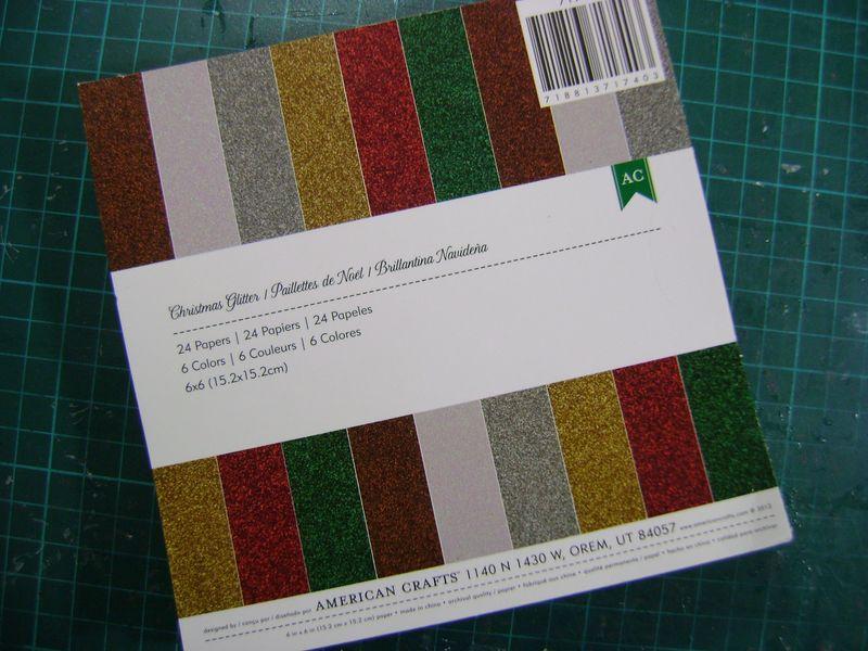 AC Glitter paper