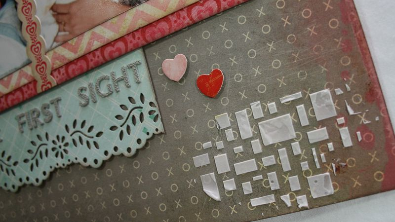 Love at first sight texture paste