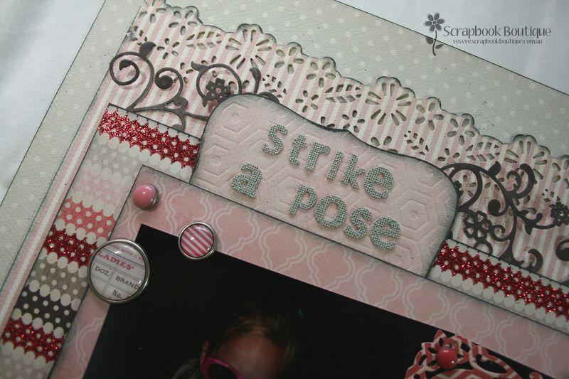 Strike a Pose title