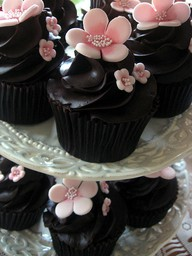 Use chocolate and pink