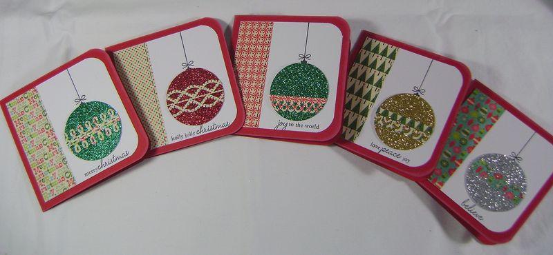 Set of 5 Xmas Cards