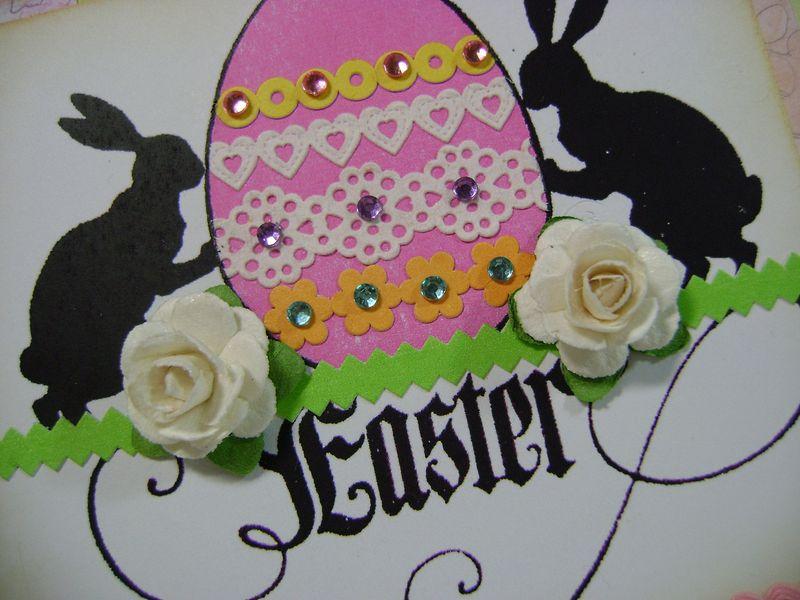 Easter card CU