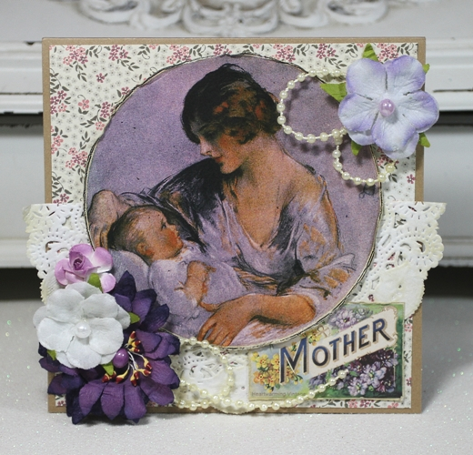 Linda-Purples-Mother Card