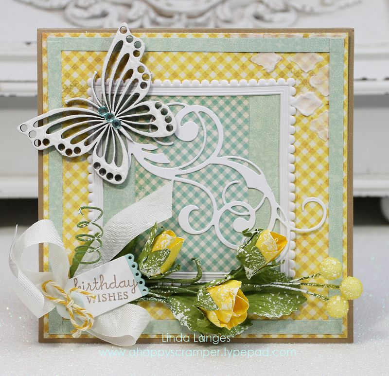Shabby Sunshine card