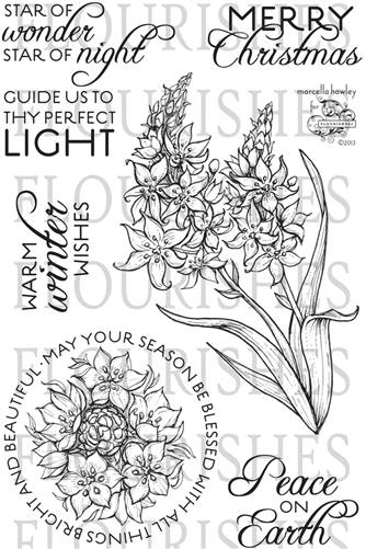 BlogHopCommentPrize Flourishes Star of Bethlehem