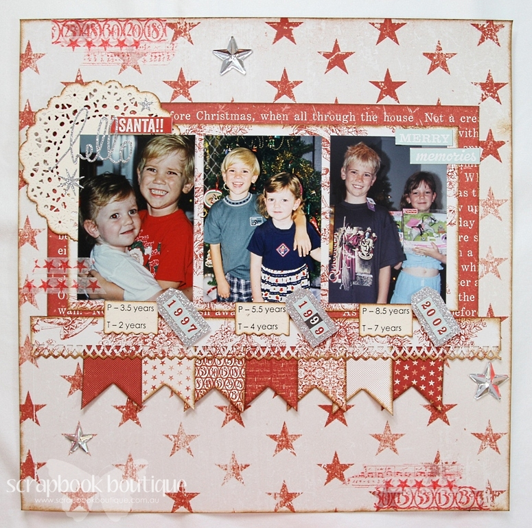 Layout #2 Hello Santa