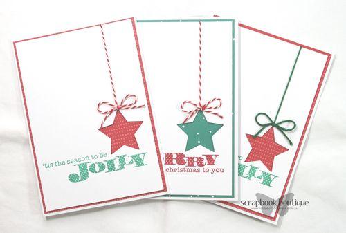 Set of 3 Xmas Cards