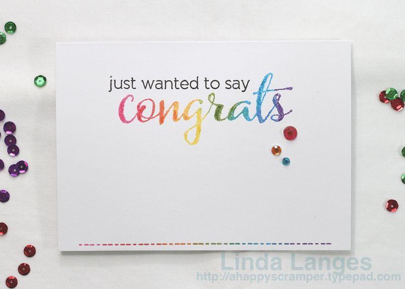 Congrats Card #2
