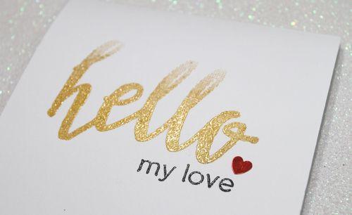 Hello My Love CU