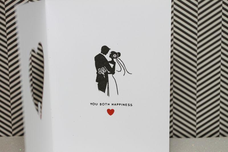 Wishing Wedding CardInside