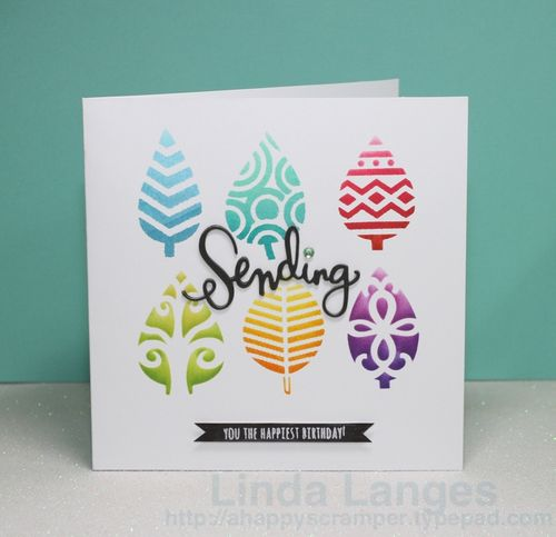 Sending leaves card