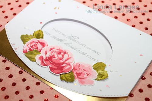 Roses Sympathy Card CU