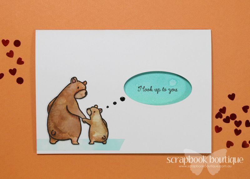 Project 1 Bear Card