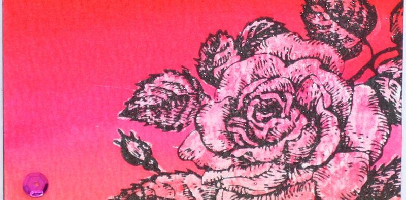 Liquid masking rose cardnarrow